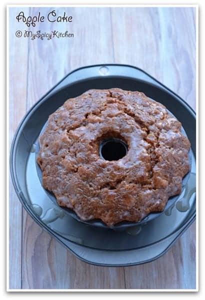 Apple Cake, Apple Cake in Bundt Pan, Bake-a-thon