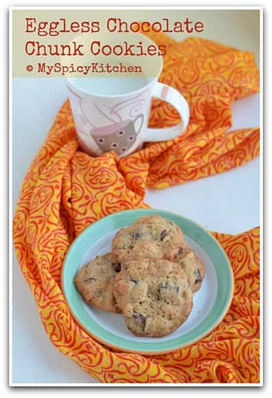 Blogging Marathon, Fire up the oven, Barefoot Contessa Recipe, Ina Garten recipe, Eggless Cookies