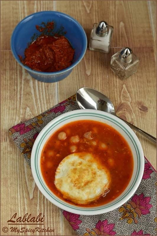 Blogging Marathon, Buffet On Table, Chickpeas Soup, Tunisian Soup, Tunisian Food, Tunisian Cuisine, Tunisian Breakfast, Breakfast, Lablebi,