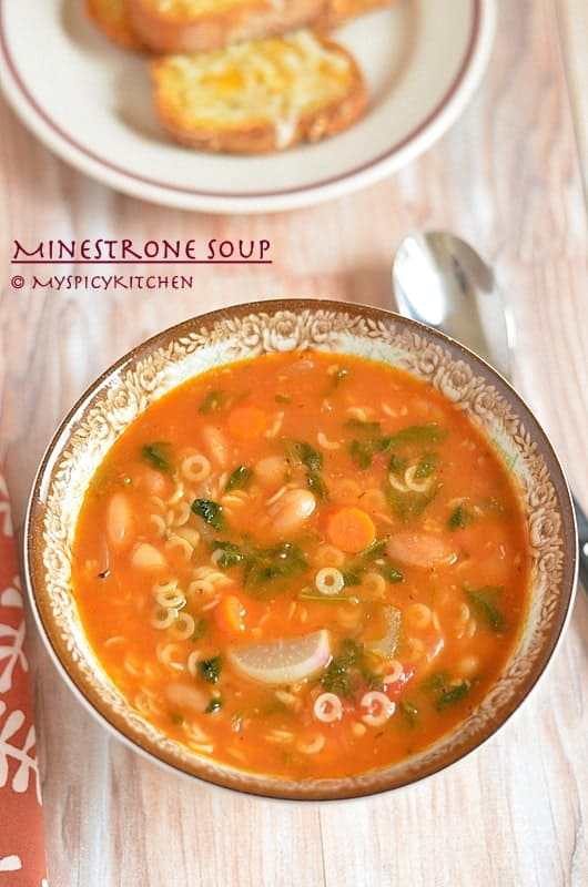 Minestrone Soup 4