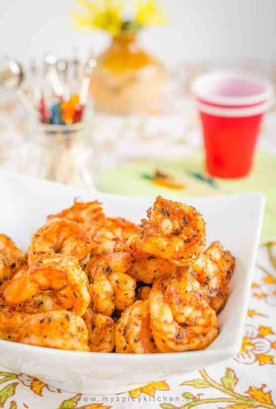 Party Shrimp, Broiled Shrimp, Party Food, Super Bowl Party Food,  Blogging Marathon, Top 100 Recipes, Taste of Home Top 100 Recipes,