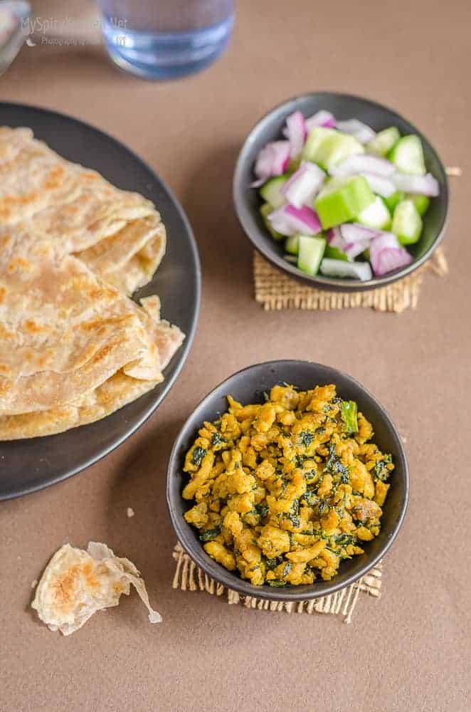 Blogging Marathon, Cooking Carnival, Protein Rich Food, Cooking With Protein Rich Ingredients, Cooking With Chicken, Chicken Kheema Curry, Dry Chicken Kheema, Kheema, Sauteed Ground Chicken, Indian Food,