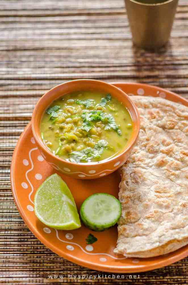 Moong Mag, Gujarati Style Moong Bean Curry, Moong Bean Curry, Whole Moong Curry, Pesaru  Koora, Blogging Marathon, Dinner Ideas,