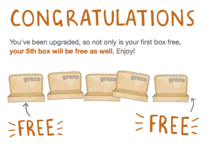 New Snack Subscription Box Alert - Graze! Plus Coupon for Two Free Boxes