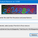 How To Completely Remove Kaspersky Anti-Virus/Internet Security Using kavremover