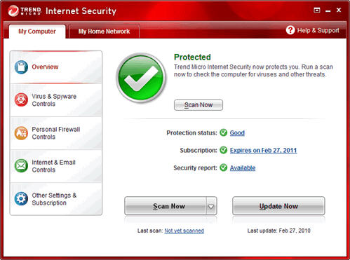 terend micro internet security