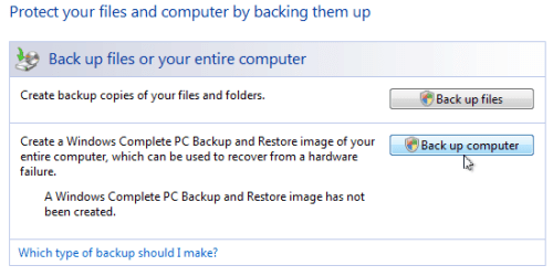 backup windows vista