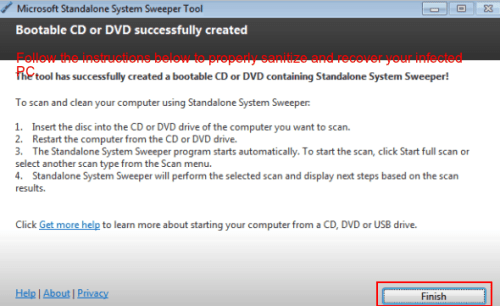 microsoft standalone system sweeper tool 3