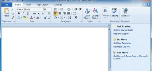 Microsoft Office 2010 Starter edition