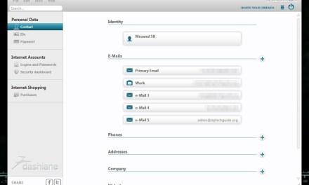 Dashlane: Super Fast, Hassle Free Web Logins and Checkouts