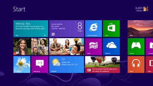 Deafult Start - Windows 8 RTM