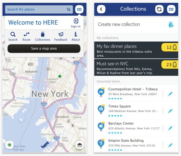 Download Nokia HERE Maps App For iOS and Android