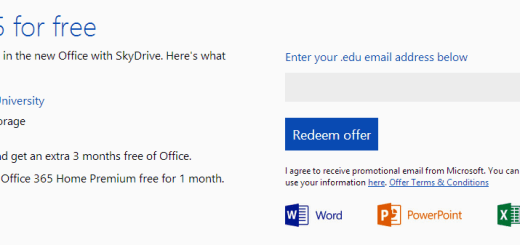 Microsoft Office 365 University and SkyDrive Offer