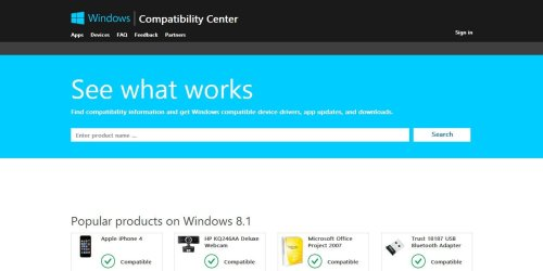 microsoft-windows-compatibility-center
