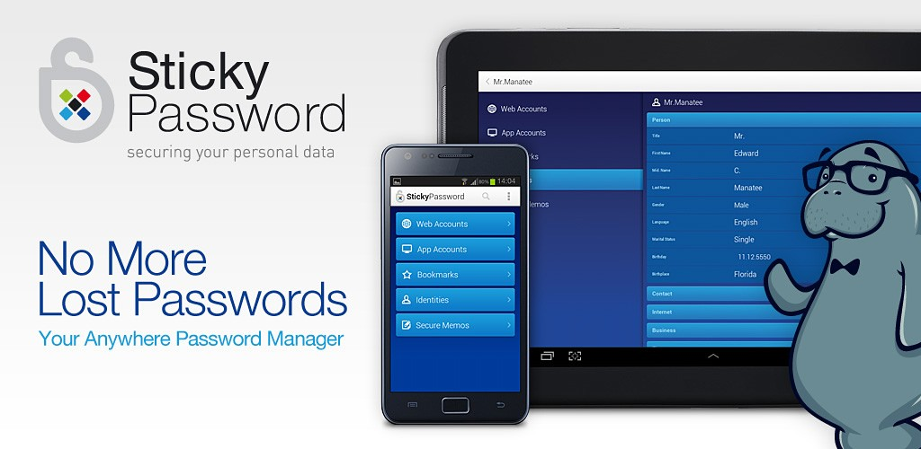 Sticky Password 7 Pro (Cloud Edition) Giveaway