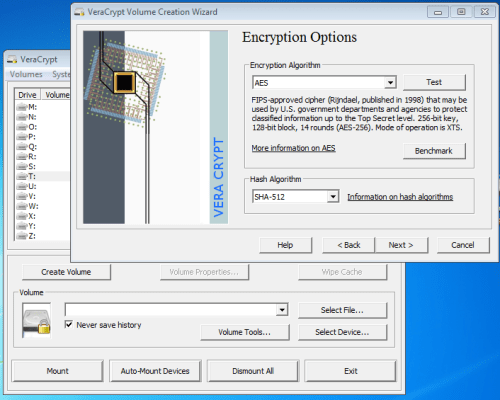 VeraCrypt a TrueCrypt alternative