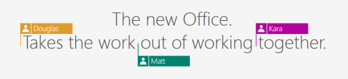 All new collaboration feature in Office 2016