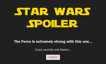 How To Block The Star Wars Movie Spoilers