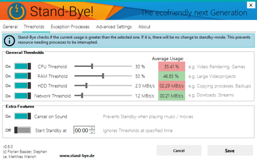 Configure Stand-Bye, Take Control Over Windows Standby
