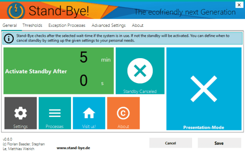 Stand-Bye Prevent Unwanted Windows Standby