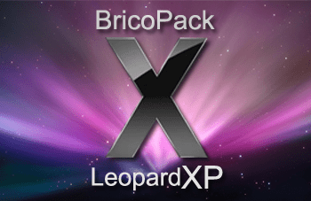 brico leopard Trasforma Windows XP in MAC OSX Leopard con LeopardXP Brico Pack