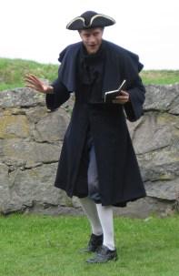 Jacka/ Ytterplagg 1700-tal. Sydd för Comedy Art Theatre, dramavisning på Älvsborgs fästning 2010.