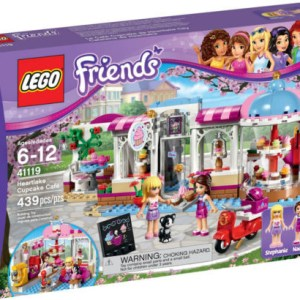 Lego Friends Set 41119 Heartlake Cupcake Cafe New/Sealed Free Shipping