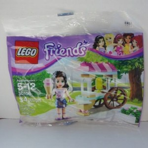 Lego Friends 30106 Emma Ice Cream Stand polybag FREE SHIPPING