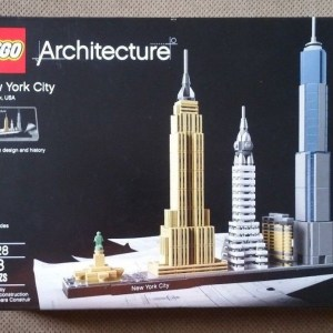 LEGO Architecture New York City (21028) NIB Skyline Build