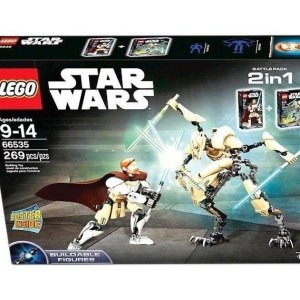 LEGO Star Wars Obi-Wan Kenobi & General Grievous 66535 2-in-1 Battle Pack- NIB