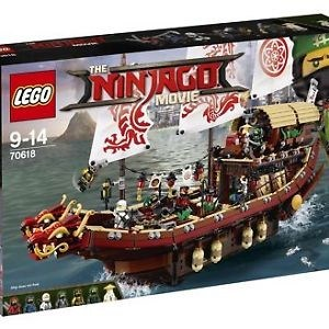 LEGO The Ninjago Movie Destiny's Bounty (70618) *Brand New*
