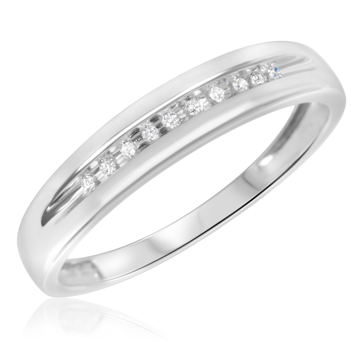 28 diamond wedding bands wedding band with diamonds Affordable Round Diamond Wedding Band in Two Tone Gold