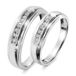 Small Of Matching Wedding Rings