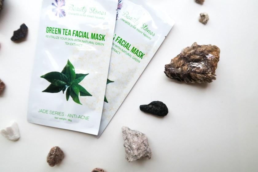 Beauty Stones Green Tea Face Masks Anti Acne