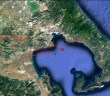 Map of Volos Tectonic Faults