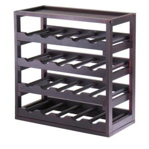 Kingston Wood Winsome Removable Tray Wine Storage Cube