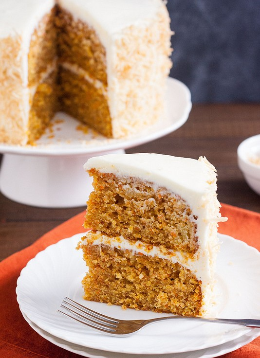 Tropical Carrot Cake with Coconut Cream Cheese Frosting – Mzansi ...