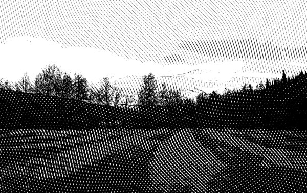 Digital, Landscape, Series, Horizon,  Naccarato, Digital, Photo, Composition, HTC Desire, Android, mobile Phone, Eastern Townships, Sutton, Quebec, 2013, Plate 10,