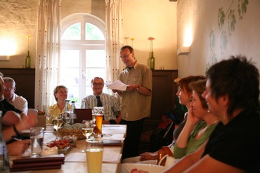 Mitgliederversammlung des Slow Food Conviviums Nürnberg im Tucherhof