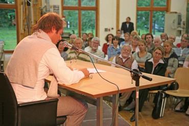 """Alice Niklaus zu """"Salongespräch in der Werkstatt"""""""