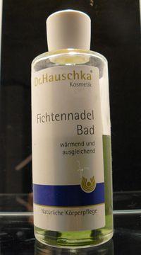 Dr. Hauschka Produkttest: Fichtennadel Bad