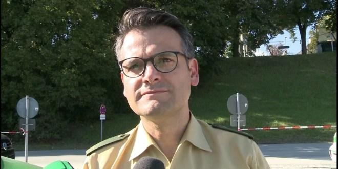 Pressesprecher der Münchner Polizei, Marcus da Gloria Martins zum Münchner Oktoberfest 2016