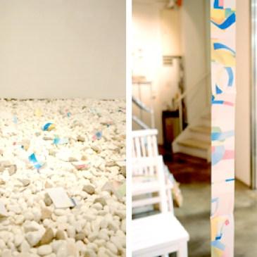 NADiff Window Gallery vol.17  冨井大裕 「5×14」