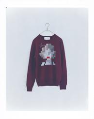she (dark red) men's wool 100% ¥30,000+tax 着丈:67cm 身幅:50cm 裄丈:83cm
