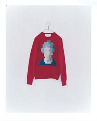she (red) men's wool 100% ¥30,000+tax 着丈:67cm 身幅:50cm 裄丈:83cm