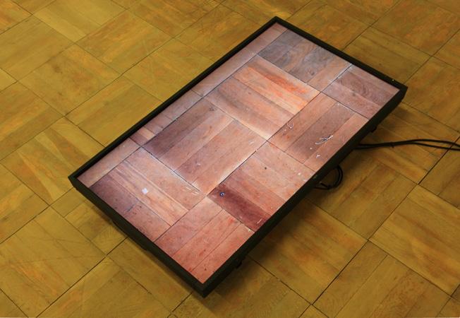 土屋貴哉, Field runhhhning (floor), 2013