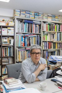 "Prof. Dr. Michio Hayashi (Office at Sophia University Campus) from ""In Search of Colors (working title)"""