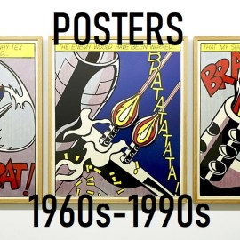 【ONLINE限定販売】蔵出し・POSTERS 1960s-1990s