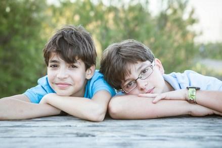 Oscar y Raúl