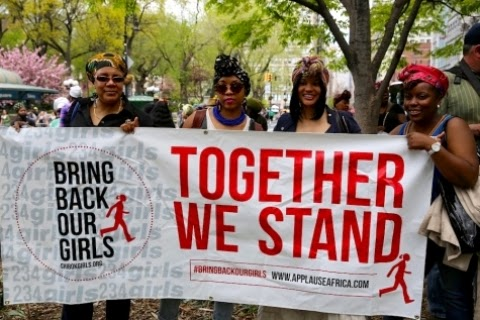 02 #BringBackOurGirls Protest Hold In Newyork And D.C (Photos)